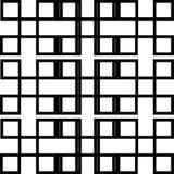 Reticolo in bianco e nero geometrico royalty illustrazione gratis