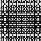 Reticolo bianco nero Fotografia Stock Libera da Diritti