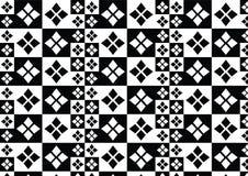 Reticolo bianco nero Fotografia Stock