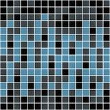 Reticolo blu dei quadrati royalty illustrazione gratis