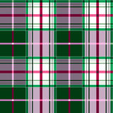 Reticolo Checkered del tartan Immagine Stock