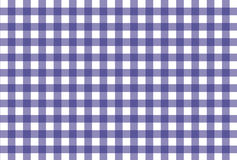 Reticolo checkered viola e bianco fotografia stock