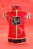 Reticolo cinese del costume Fotografia Stock Libera da Diritti