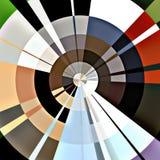 Reticolo circolare astratto Fotografia Stock