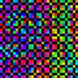 Reticolo colorato luminoso dei cubi illustrazione di stock