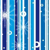reticolo con i fiocchi di neve illustrazione vettoriale