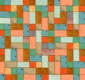 Reticolo decorativo quadrato Fotografia Stock