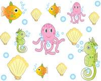 Reticolo degli animali di mare Immagine Stock Libera da Diritti
