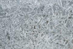 Reticolo dei cristalli di ghiaccio Fotografia Stock Libera da Diritti