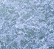 Reticolo dei cristalli di ghiaccio Fotografia Stock