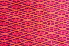 Reticolo dei panni del nativo della Tailandia Fotografie Stock