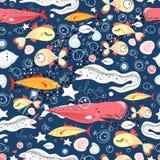 Reticolo dei pesci Fotografia Stock Libera da Diritti