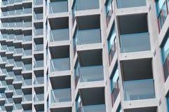 reticolo del balcone Fotografia Stock