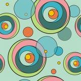 Reticolo del cerchio colorato Fotografia Stock
