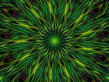 Reticolo del cerchio della piuma del pavone illustrazione vettoriale