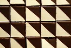 Reticolo del cioccolato di dolci Fotografia Stock Libera da Diritti