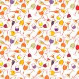 Reticolo del cocktail Fotografia Stock