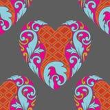 Reticolo del cuore Fotografie Stock
