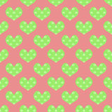 Reticolo del cuore Fotografia Stock