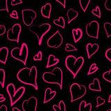 Reticolo del cuore Immagini Stock