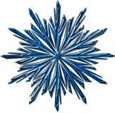 Reticolo del fiocco di neve Immagini Stock Libere da Diritti