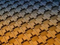Reticolo del Frontage della costruzione Fotografia Stock Libera da Diritti