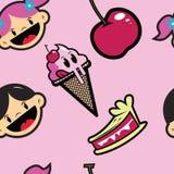 Reticolo del gelato Immagine Stock