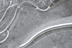 Reticolo del ghiaccio Fotografia Stock Libera da Diritti