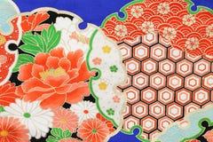 Reticolo del kimono Fotografie Stock