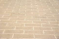 Reticolo del marciapiede in una sosta immagine stock libera da diritti