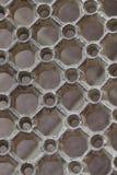 Reticolo del metallo Fotografia Stock