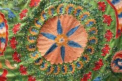 Reticolo del ornamental dell'Uzbeco immagini stock libere da diritti