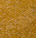 Reticolo del pavimento del mattone Immagini Stock Libere da Diritti