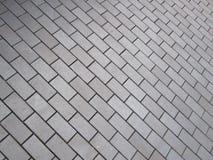 Reticolo del pavimento della superficie esterna Immagini Stock