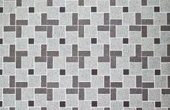 Reticolo del pavimento di disegno Immagini Stock
