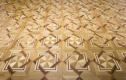 reticolo del pavimento di legno Immagini Stock