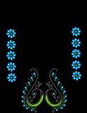 Reticolo del pavone Fotografia Stock