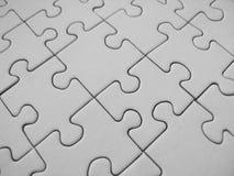 Reticolo del puzzle Fotografia Stock