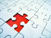 Reticolo del puzzle Fotografie Stock Libere da Diritti