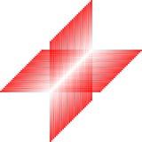 Reticolo del quadrato rosso, mattonelle senza giunte, vettore Immagini Stock