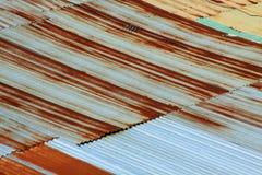Reticolo del tetto della ruggine Immagine Stock