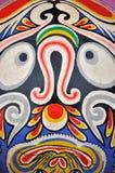 Reticolo del totem nella zona occidentale cinese Immagini Stock Libere da Diritti