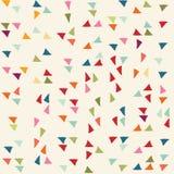 Reticolo del triangolo Fondo di vettore Fotografia Stock