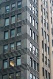 Reticolo dell'edificio per uffici di New York Fotografia Stock Libera da Diritti
