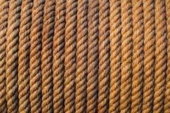 Reticolo della corda Fotografia Stock