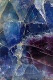 Reticolo della fluorite Fotografia Stock Libera da Diritti
