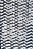 Reticolo della griglia del metallo Fotografie Stock Libere da Diritti