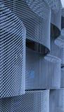 Reticolo della parete del metallo Immagine Stock