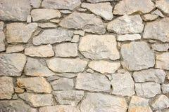 Reticolo della parete di pietra fotografie stock