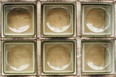 Reticolo della parete di vetro bianca libera Fotografia Stock Libera da Diritti